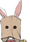 Paper Bag Bunny Girl